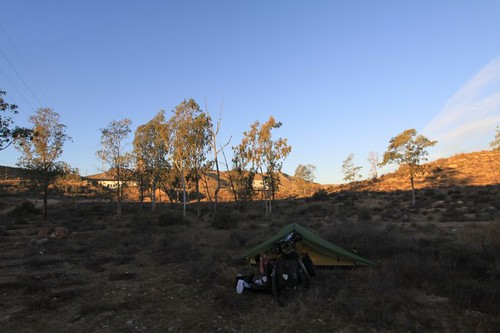 Benahadux morning camp.