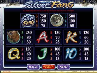 free Silver Fang slot mini symbol