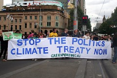 Stop the Politics Climate Treaty Now - Greenpeace