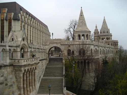 Fisherman Bastion at Castle Hill
