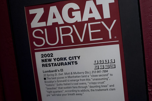 Zagat Rated-Lombardi's