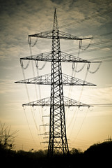 Pylon I (manganite) Tags: winter sunset sky sun color clouds digital catchycolors germany de landscape geotagged dawn iso100 evening nikon colorful europe industrial afternoon seasons tl dusk pylon d200 nikkor f18 dslr lightroom 50mmf18 herten northrhinewestphalia nikond200 manganite 13200sec date:year=2007 schlospark repost1 date:day=16 13200secatf18 format:ratio=32 format:orientation=portrait date:month=dezember geo:lon=7125696 geo:lat=51584297