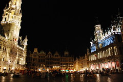 The 18mm eye on the Grand Place of Brussels