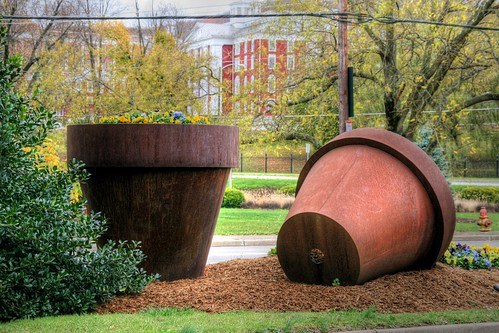 Staunton's Big Flower Pots