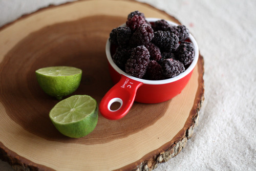 Blackberry Granita