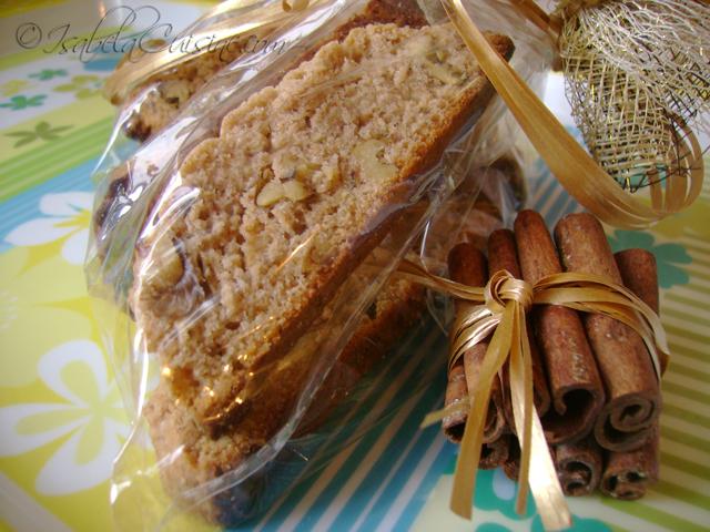 Cinnamon Nuts Biscotti