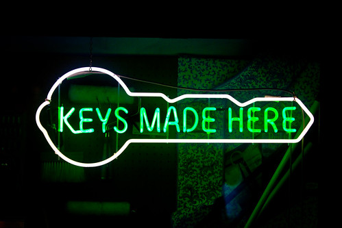 Keys Made Here / Thomas Hawk