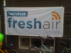 Le Fresh Air center, mon QG ;)