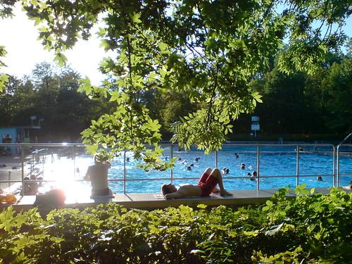 Freibad Hausen. Sommer 2009