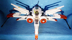 8-wing ARC-170 prototype (r ) Tags: starwars lego prototype starfighter arc170 8088 8wing