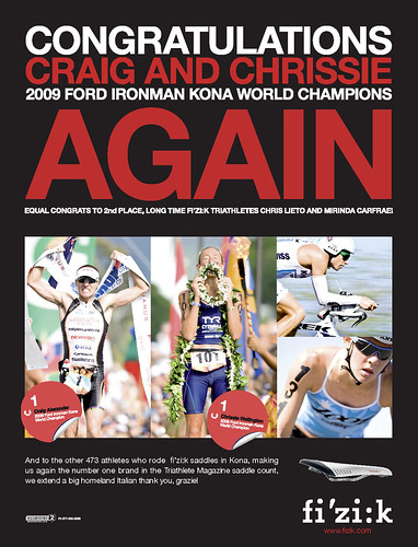Congrats Craig and Chrissie - 2009 Ford Ironman KONA World Champions