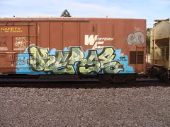 kerse (the7footer) Tags: train graffiti kerse graffitifreight graffitiamfm