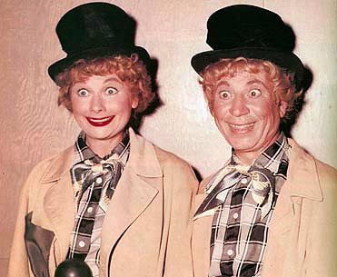 "From ""Lucy and Harpo Marx"" - 1955 por Lucy_Fan."