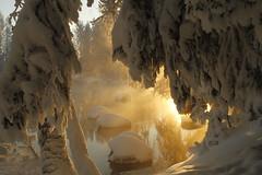Kapeenkoski Rapids 0044 (FarmerJohnn) Tags: winter suomi finland frost rapids wonderland talvi laukaa koski kuura kapeenkoski canoneos7d