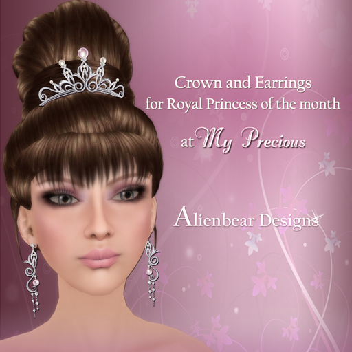 Crown for the Royal Princess of month at My Precious