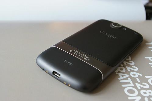 Google Nexus One 的大后背