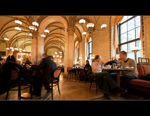 Cafe Central in Vienna