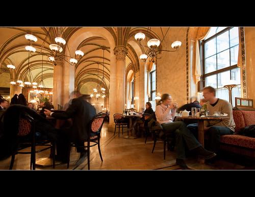 Cafe Central in Vienna
