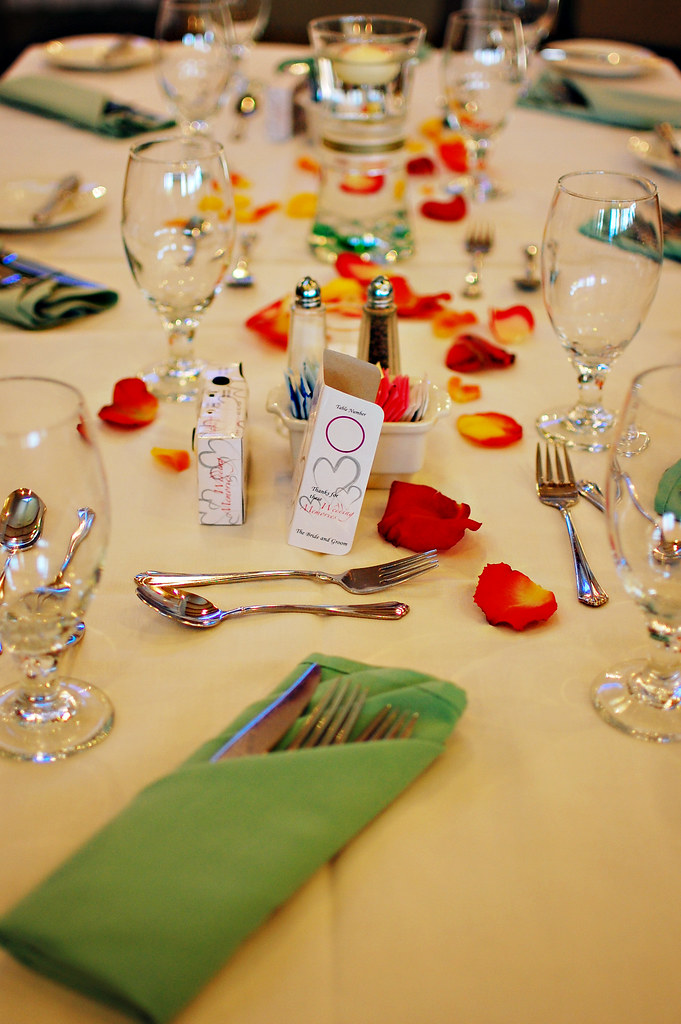 Kathie & Ed's Wedding: Table Decorations