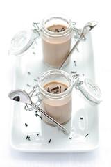 Crème chocolathée à l'agar agar