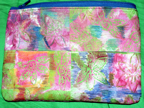 zipper pouch colourful