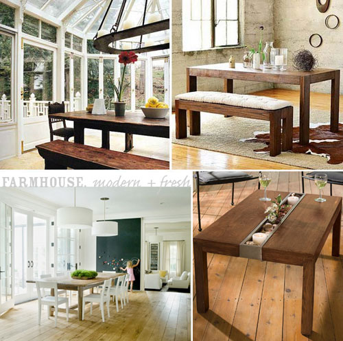 Modern Farmhouse Tables