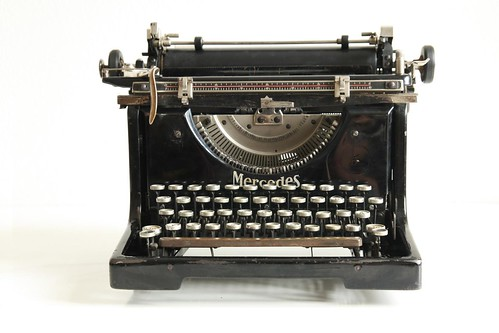 Mercedes No.5 typewriter 10/13