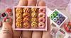 Sweet Breakfast Pastry Tray (1/12 scale)