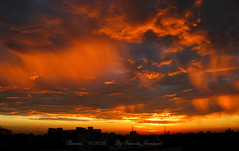 Firing clouds and fiery sky.  A dawn scene from my window (Sunciti _ Sundaram's Images + Messages) Tags: sky cloud sunrise searchthebest creativecommons 1001nights soe sow dazzling bestshot smorgasbord natureswonders blueribbonwinner strangesky 10faves 5photosaday goldenglobeawards hongkongphotos abigfave enstantane platinumphoto anawesomeshot colorphotoaward aplusphoto agradephoto flickraward mycameraneverlies diamonclassphotographer brillianteyejewel concordians goldstaraward brilliantphotography natureselegantshots rubyphotographer fabulousflicks overtheshot flickrovertheshot abovealltherest spiritofphotgraphy mallimixstaraward elitephotgraphy artofimages planetearthourhome capturethefinest mawesomescenery veryimportantphotos artofatmosphere lovelylovelyphoto winklerians worldclassnaturephotoni flickrunitedaward