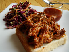 Winter CSA 5: Pulled Pork Sandwich With Coleslaw