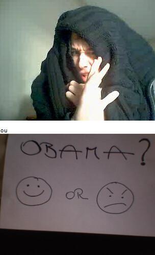 Chatroulette Obama
