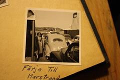 Färja till Marstrand 1955 (annsphoto) Tags: 1955 sverige semester marstrand sommar gamla kort färja västkusten