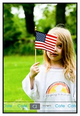 It's going to be alright... (Cate Nixon) Tags: inspiration girl field kids portraits canon children photography americanflag roxbury childrenportrait itsgoingtobealright newenglandconnecticut