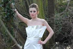 Location Fashion. (Laura Grace Gardner) Tags: laura water fashion thames pond nikon katie location grace surrey quinn textiles walton gardner garnment