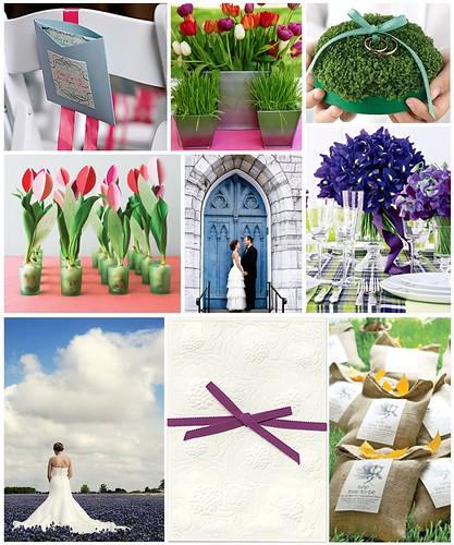Vibrant Spring Wedding