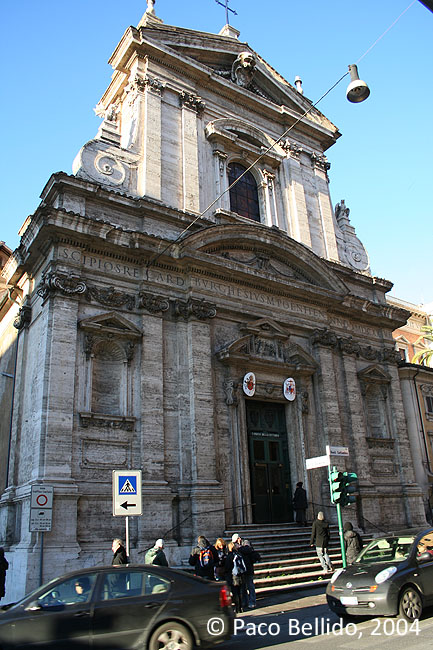 Santa Maria della Vittoria. © Paco Bellido, 2004