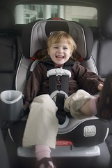 Child in Nautilus 3-in-1 Carseat