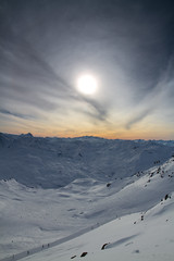 """Atop the """"3 Valleys 2"""" lift (P.A.B.) Tags: snow france mountains snowboarding skiing 7d valthorens fullsize lesmenuires 3valleys ptype les3valles nd4grad cokinfilters directskicom canoneos7d"""
