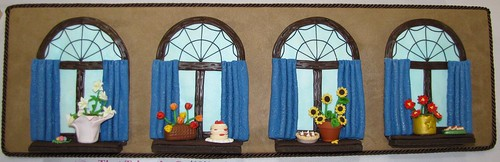 Seasonal Windows by April Farnum