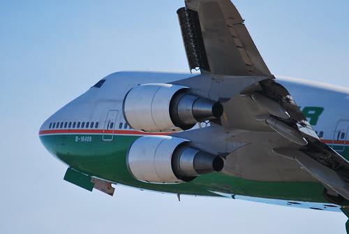 Eva Air Schiphol Eva Air Boeing 747 B-16409
