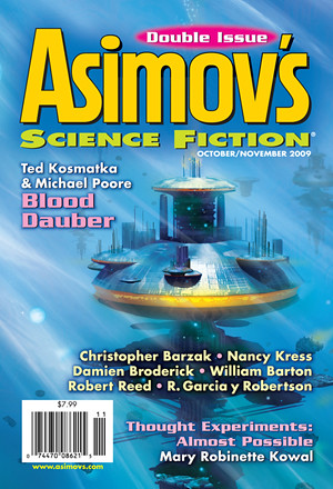 Asimov's Oct-Nov cover