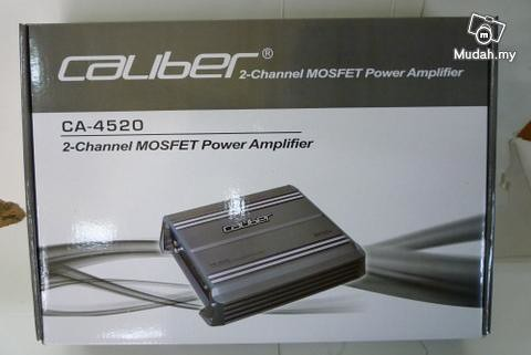 Power Am 4 Channel Caliber 2400Watt