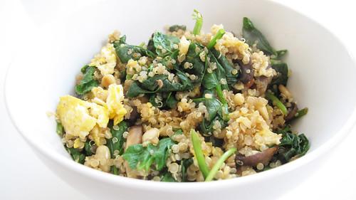Quinoa Scramble