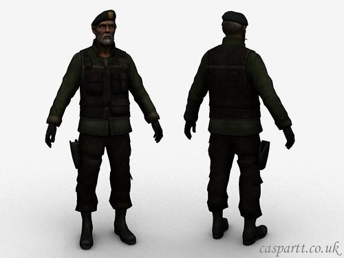 Beta Costume Bill Traggey texture