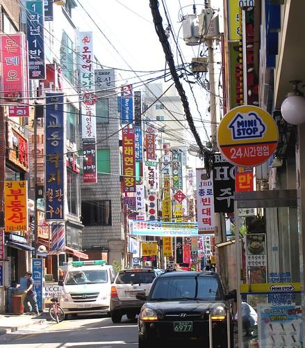 Korea Trip - side street
