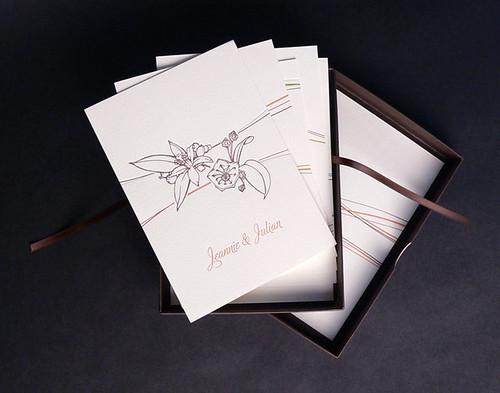 Seasons Invitation in box
