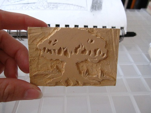 Small Linocut
