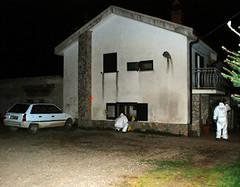Biagio Stabile, un contadino di 54 anni, è rimasto sotto il fuoco di un commando composto da quattro persone.