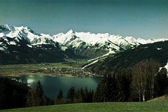Towards the Kitzsteinhorn (violinconcertono3) Tags: snow mountains landscape spring alpine zellamsee kitzsteinhorn