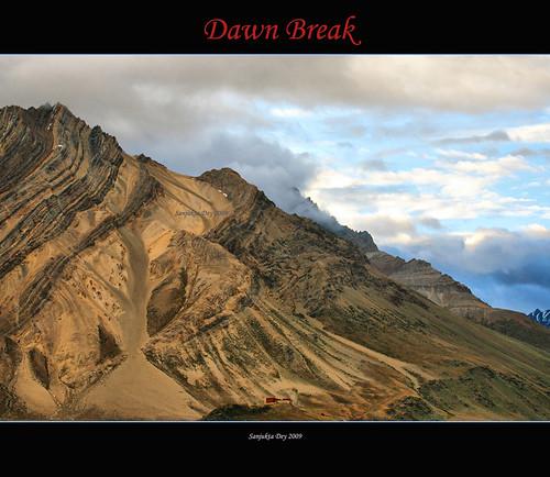 Dawn Break in R. Valley, Ladakh, Jammu & Kashmir, India - 01.09.09